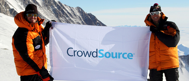 CrowdSource on Mt. Vinson