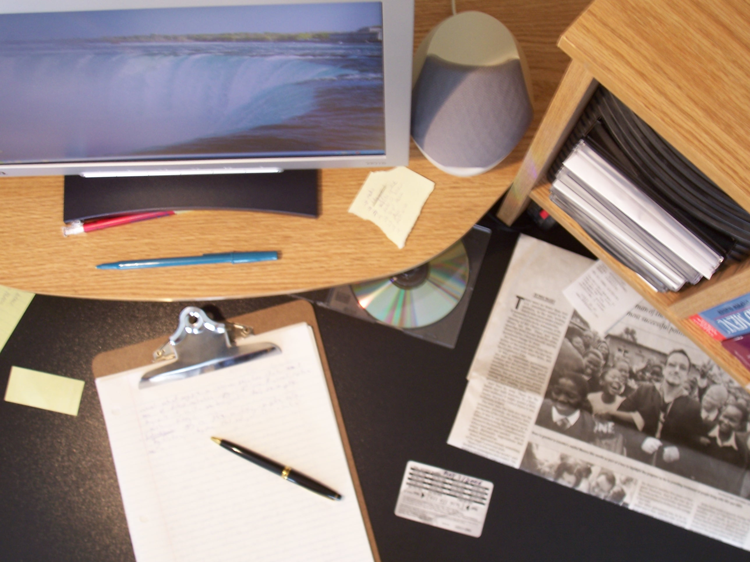 office working table. Check My Emails Office Working Table